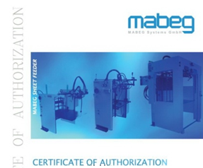magbeg sheet feeder authorization