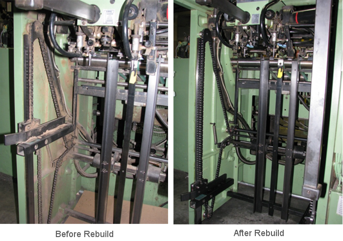 mabeg feeder rebuild before and after