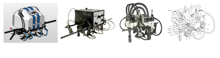 We provide complete Feeder Heads for all MABEG feeder models for existing or new projects.