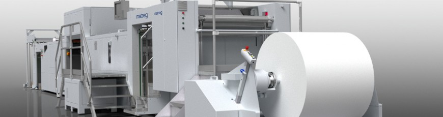 Offering new MABEG sheet feeders for different applications:  printing, laminating, die-cutting and embossing machines.